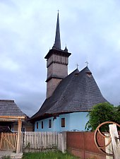 Wooden church, Lozna , Photo: WR