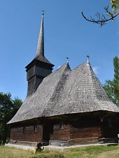 Wooden church, Purcăreț , Photo: WR