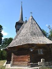 Biserica de lemn, Purcaret , Foto: WR