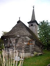 Biserica de lemn, Soimuseni , Foto: WR