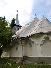 Biserica de lemn, Zalha , Foto: WR
