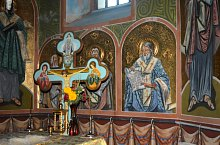 Orthodox church, Călata , Photo: WR