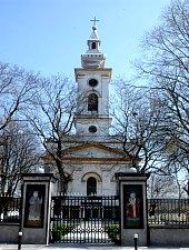 Szerb templom, Ómoldova , Fotó: pr. Nestorovici Iota