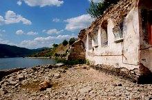 A Szinice-i templom romjai, Fotó: WR