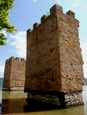 Tricule - Három torony, Szinice , Fotó: WR