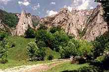 Szkarica Belioara rezervátum, Felső Posága
