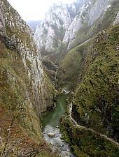 The Turzii Gorge, Turda , Photo: Wilhelm Scherz