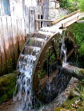 Moara de apa, Rimetea , Foto: WR