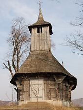 Biserica de lemn, Copaceni , Foto: WR