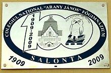Salonta, Colegiul Arany János, Foto: WR