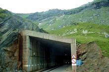 Transfăgărășan tunnel, DN7c Transfăgărășan·, Photo: Nagy Mariann