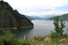 Vidraru lake and dam, DN7c Transfăgărășan·, Photo: Cătălin Lucan