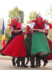 Felszeg Gyöngye néptáncegyüttes - Kalotaszentkirály, Fotó: WR