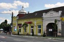 Erzsebet hotel, Aleșd , Photo: WR