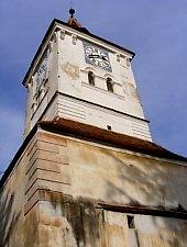 Măieruș, Biserica evanghelică, fortificată, Foto: Bogdan Bălăban
