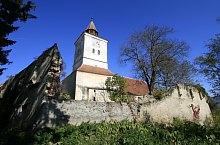 Măieruș, Biserica evanghelică, fortificată, Foto: Tudor Seulean