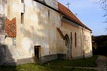 Măieruș, Biserica evanghelică, fortificată