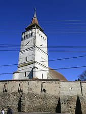 Rotbav, Evangelical fortified church, Photo: Tudor Seulean