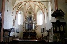 Biserica evaghelica, Saschiz , Foto: Bogdan Bălăban