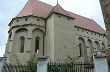 Biserica evaghelica, Saschiz , Foto: Bogdan Teodorescu