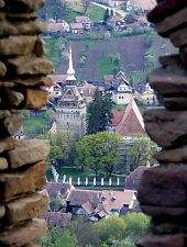 Szászkézd, A vár, Fotó: Bogdan Bălăban