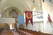 Evangelical fortified church, Bradu , Photo: WR