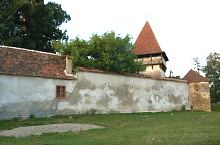 Evangelical fortified church, Cincșor , Photo: WR