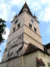 Evangelical fortified church, Cisnădie , Photo: Szabó Tibor
