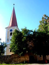 Evangelical church, Selimbăr , Photo: WR