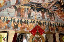 Alsóvist - A templom és a fogadó, Fotó: WR