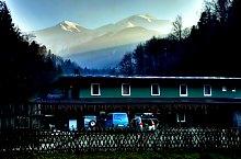 Avrig település-Bărcaciu turistaház jelzett turistaút, Fogarasi havasok, Fotó: Marius Mihai