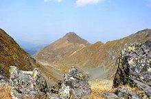Zerge nyereg-Vânătoarea lui Buteanu jelzett turistaút, Fogarasi havasok, Fotó: WR