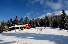 Bărcaciu chalet, Făgăraș mountains·, Photo: Adrian Stanbeca