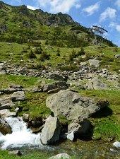 Bâlea Cascadă - Lacul Bâlea, prin prin V.Bâlei, Foto: Adrian Stanbeca