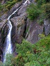 Cascada Serbota, Muntii Fagaras, Foto: Dénes László