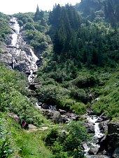Cascada Serbota, Muntii Fagaras, Foto: Radu Dârlea
