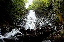 Waterfalls in the Moasei valley, Făgăraș mountains·, Photo: Andrei Pop