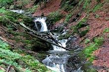 Waterfalls in the Moasei valley, Făgăraș mountains·, Photo: Liviu Odagiu