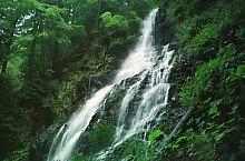 Waterfalls in the Moasei valley, Făgăraș mountains·, Photo: Lăzăroaie Gigel