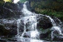 Waterfalls in the Moasei valley, Făgăraș mountains·, Photo: Ioan Bodean