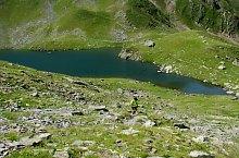 Avrig lake, Făgăraș mountains·, Photo: Silvia David