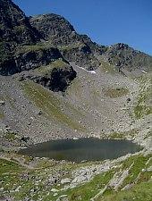 Caltun lake, Făgăraș mountains·, Photo: Radu Dârlea