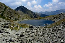 Caltun lake, Făgăraș mountains·, Photo: Sorin Nicolas