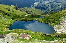 Capra lake, Făgăraș mountains·, Photo: Cătălin Lucan