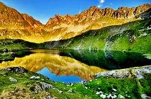 Podragu tó, Fogarasi havasok., Fotó: Dénes László