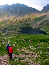 Podragu tó, Fogarasi havasok., Fotó: Silvia David