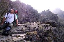 Negoiu peak-Scării saddle hiking trail, Făgăraș mountains, Photo: Gabriel Gheorghiu