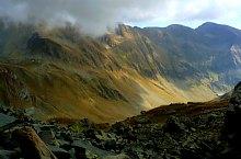 Podragu saddle -  Capra saddle hiking trail, Făgăraș mountains, Photo: Adrian Stanbeca
