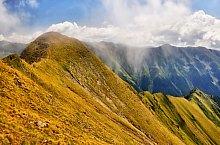 Podragu saddle -  Capra saddle hiking trail, Făgăraș mountains, Photo: Dénes László