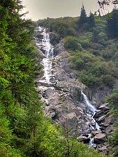 Serbota waterfall, Photo: Dénes László